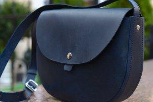 Сумка натуральная кожа Saddle Bag от Klasni - ІНШІ РОБОТИ