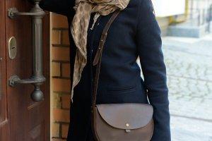 Сумка кожаная Saddle Bag от Klasni оливка - ІНШІ РОБОТИ