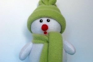 Снеговик в зеленой одежде - ІНШІ РОБОТИ