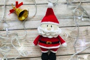 Робота Маленький Санта, амигуруми