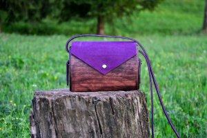 """Жіноча дерев'яна сумка """"Афина"""""""