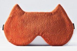Робота Маска кошка для сна, оранжевая маска для сна