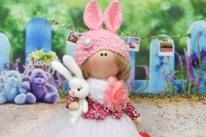 Выкройка текстильной куклы - ІНШІ РОБОТИ