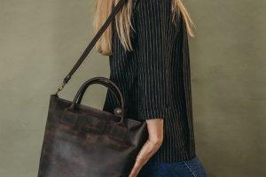Робота B-Bag сумка женская из натуральной кожи
