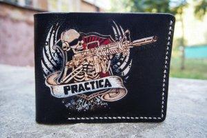 Кожаный кошелек Practica - ІНШІ РОБОТИ