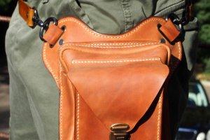 Кожаная сумка набедренная PSn18 - ІНШІ РОБОТИ