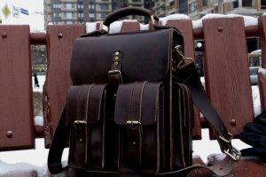 Мужская кожаная сумка, сумка-портфель - ІНШІ РОБОТИ
