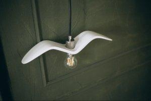 Робота Лампа чайки біла