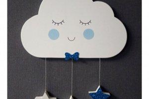 Облачко и звезды на стену в детскую комнату  - ІНШІ РОБОТИ