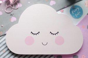 Облако на стену в детскую комнату. Настенный декор  - Опис