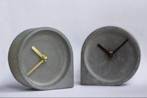 Годинник з бетону,бетонные часы - Опис