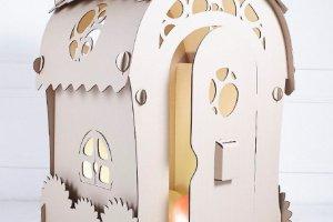 Робота Ельфійський картонний будиночок. Будинок Мрій
