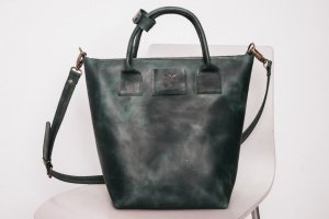 Сумка шоппер B-Bag  через плечо, шкіряна сумка  - ІНШІ РОБОТИ