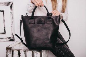 Робота Сумка женская из кожи, большая сумка, сумка ручной работы