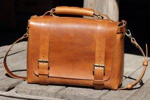 Оригинальная кожаная мужская сумка - ІНШІ РОБОТИ