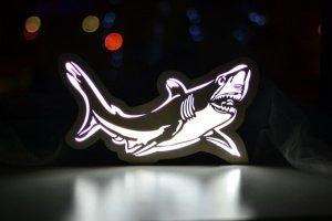 Робота Ночник - Акула