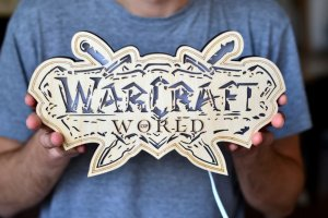 Робота Светильник из дерева - World of Warcraft