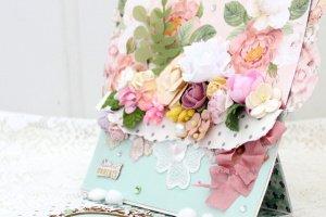 Робота Большая цветочная открытка на 8 Марта