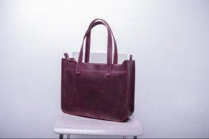 Шкіряна сумка, женская сумка CaseBag - ІНШІ РОБОТИ