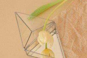 Треугольная шкатулочка с зеркальным дном  - ІНШІ РОБОТИ