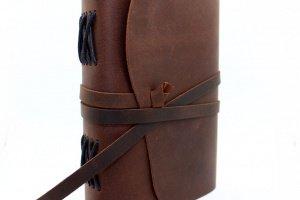 Блокнот Кожаный плюс в Подарок кошелек ручной работы