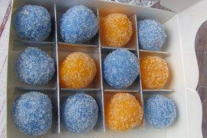 Сахарный скраб для тела с ароматом фруктов и цитруса  - Опис
