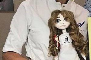 Лялька вчителю, лялька кондитер