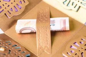 Коробочка для денежного подарка - Описание