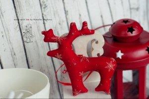 Новорічний лось  - Опис