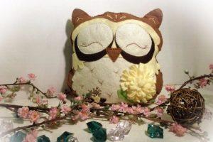 Іграшка з фетру, сова, owl