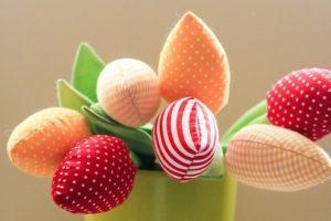 Текстильные тюльпаны - ІНШІ РОБОТИ