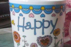 Чашка с чехольчиком и подставкой под горячее - Описание