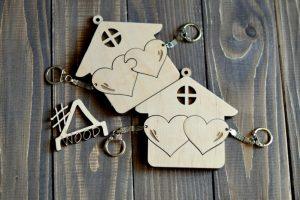 Ключница  Heart - Опис