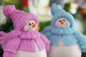 Снеговик Пухляк
