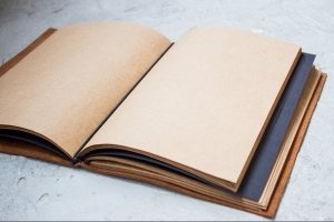 Softbook - кожаный блокнот (коричневый) - Опис