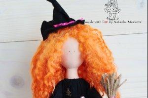 Стильна відьмочка Вікторія на Halloween