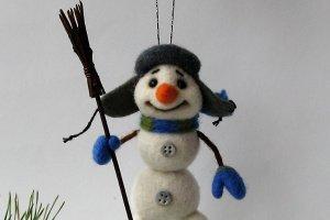 Снеговик - Опис
