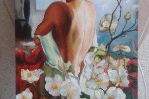 Дівчина з орхідеєю