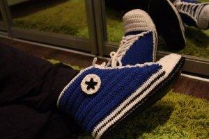 Комнатная обувь - кеды