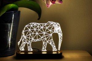"""3D ночник для детей """"Слон"""" - ДРУГИЕ РАБОТЫ"""