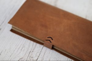 Longer travellers notebook (коричневый) - Опис