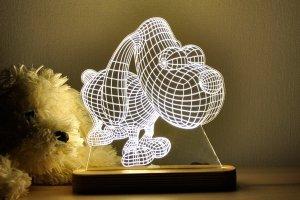 """Работа 3D ночник """"Собака"""""""