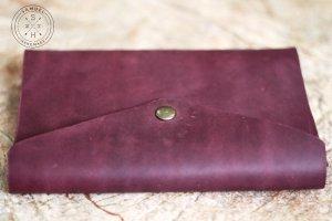 Purple softbook - кожаный блокнот - Опис