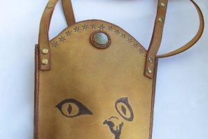 62d41de37870 Маленькая сумочка через плечо из кожи Крейзи Хорс