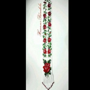 Робота Гердан ′Троянди′ з чешського бісеру 66d988323efbc