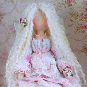 Робота Ніжна шеббі лялечка