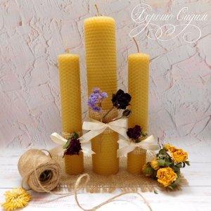 Робота  Набор свечей из вощины макси