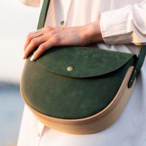 Робота REA Green. Авторська сумка ручної роботи.