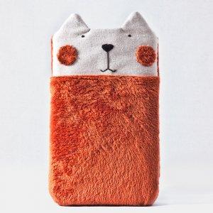 Робота Пушистый чехол кот для iPhone XS Max, Samsung Galaxy Note 9