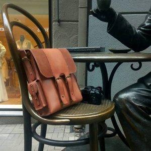 Мужская кожаная сумка A4